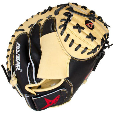 "All Star Pro-Advanced 33.5"" Baseball Catcher's Mitt: CM3100SBT"