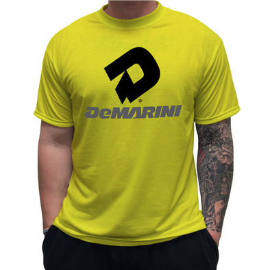 DeMarini GLOWSTICK T-Shirt: DEMASPOYBKGR