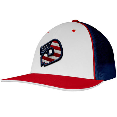 DeMarini USA D Flex Fit Hat: DEMAWRNUSA