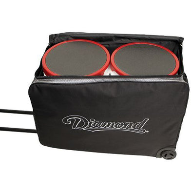 Diamond 2 Bucket Wheeled Equipment Bag: WHL BKT BAG