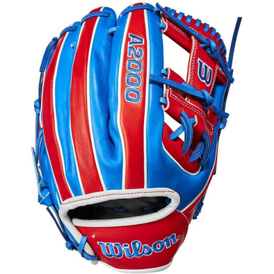 "Wilson A2000 1786 11.5"" Puerto Rico Limited Edition Baseball Glove: WBW100299115"