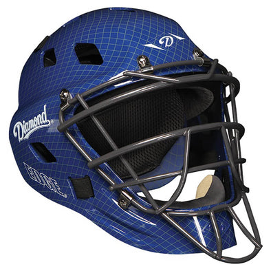 Diamond iX5 Series Hockey Style Catcher's Helmet: DCH-EDGE IX5