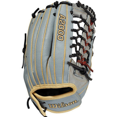 "Wilson A2000 T125SS 12.5"" SuperSkin Fastpitch Glove: WBW100216125"