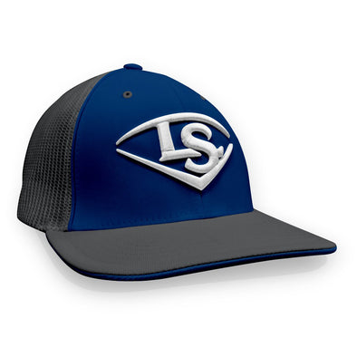 Louisville Slugger Shield Flex Fit Hat: TRKRBGRGRWT