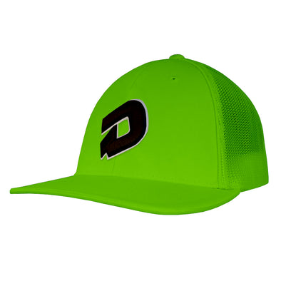 DeMarini D Flex Fit Hat: DEMANGBK