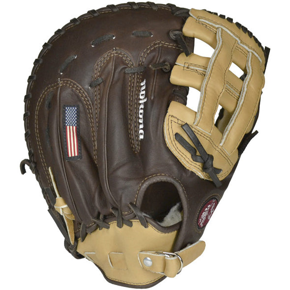 "Nokona Buckaroo Sandstone 12.5"" Baseball First Base Mitts: BB-1250H"