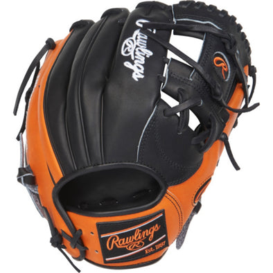 "Rawlings Heart of the Hide Color Sync 11.5"" Baseball Glove: PRONP4-2BO"