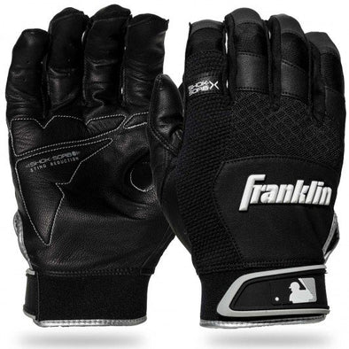 Franklin Shok-Sorb X Youth Batting Gloves: 209