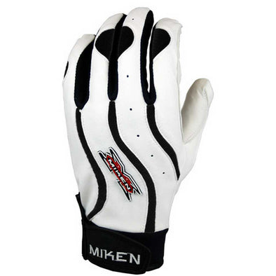 Miken Team II Adult Batting Gloves: TEAMBG
