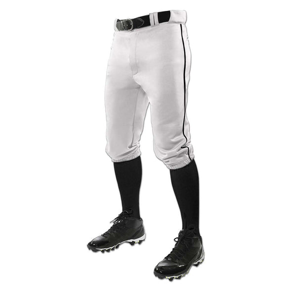 Champro Sports Youth Triple Crown Knicker Baseball Pants with Piping: BP101Y