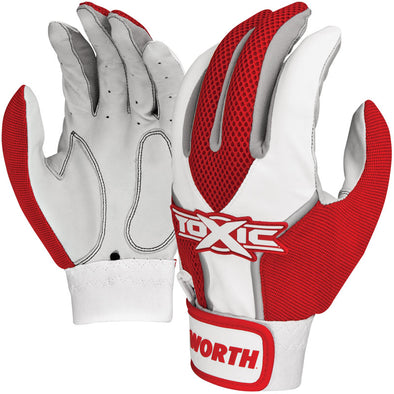 Worth Toxic Adult Batting Gloves: TOXBG