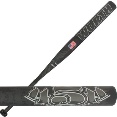2013 Worth 454 Balanced Senior Slowpitch Softball Bat: SBRHA