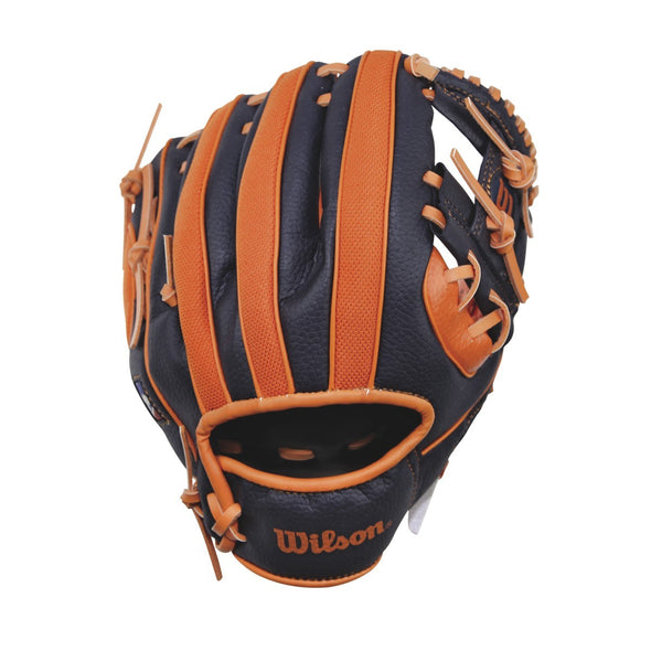 "Wilson A200 Detroit Tigers 10"" Youth Baseball Glove: WTA02RB16DET"