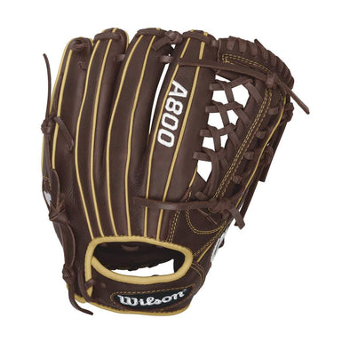 "Wilson A800 Showtime 11.75"" Baseball Glove: WTA08RB161175"
