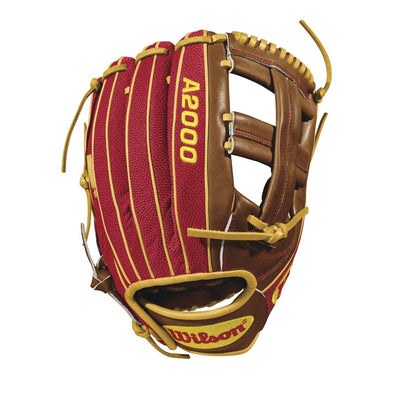 "Wilson A2000 DP15 11.75"" Dustin Pedroia GM SuperSkin Baseball Glove: WTA20RB18DP15GM"