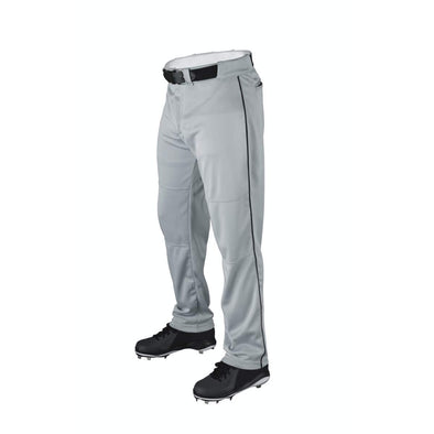 Wilson Adult P200 Classic Knit Relaxed Fit Baseball Pants with Piping: WTA4332