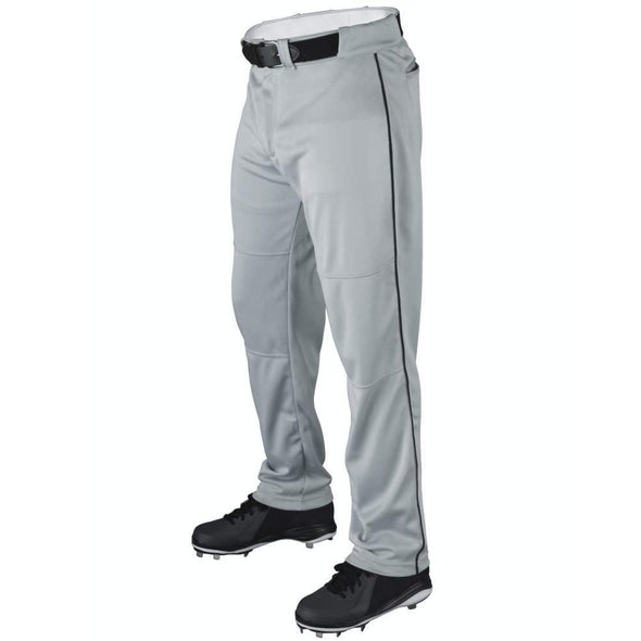 Wilson Youth P200 Classic Knit Relaxed Fit Baseball Pants with Piping: WTA4232