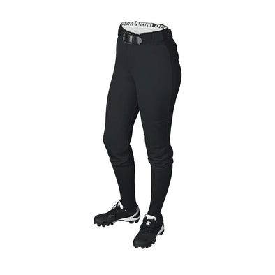 DeMarini Girl's Belted Fastpitch Softball Pants: WTD4040