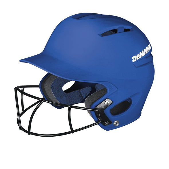 DeMarini Paradox Batting Helmet with Fastpitch Mask: WTD5423