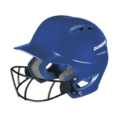 DeMarini Paradox Protege Batting Helmet with Mask: WTD5424