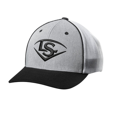 Louisville Slugger Shield Flex Fit Hat: WTL8702GW