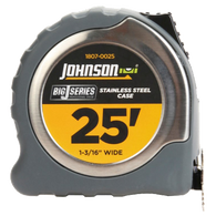 "25' X 1-3/16"" Big J® Power Tape-Johnson Level"