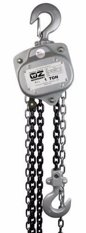 Heavy Duty OZ Economy Chain Hoist with No Overload Protection-OZ Lifting