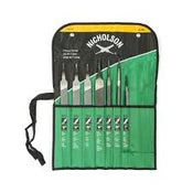 Machinist File Set - 7 Pc.-Nicholson