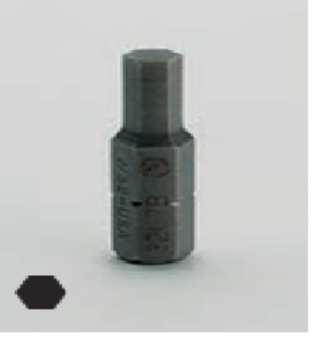 "1/4"" Drive Hex Bit Replacement Bit-Wright Tools"