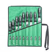 9 Pc. File Set w/ Ergonomic Handle-Nicholson