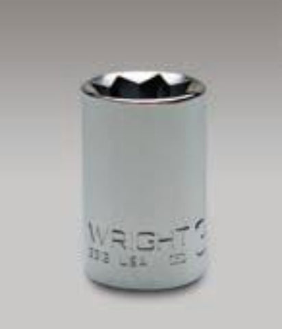 "1/4"" Drive 8 Point Std Socket-Wright Tools"