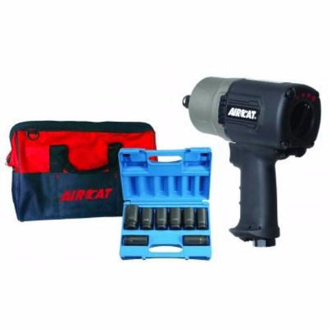 "3/4"" ""Super Duty"" Impact Wrench Kit #1770-XLK-AIRCAT"