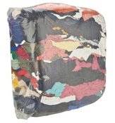 25 lb Bag of Rags - T Shirt Rags - Mixed-Industrial Tool Supply