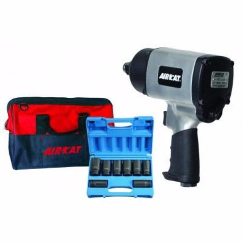 "3/4"" ""Super Duty"" Impact Wrench Kit #1777K-AIRCAT"