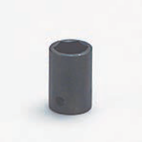 "3/8"" Drive 6 Point Socket-Black Finish-Wright Tools"