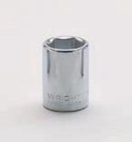 "1/2"" Drive 6 Point Socket-Wright Tools"