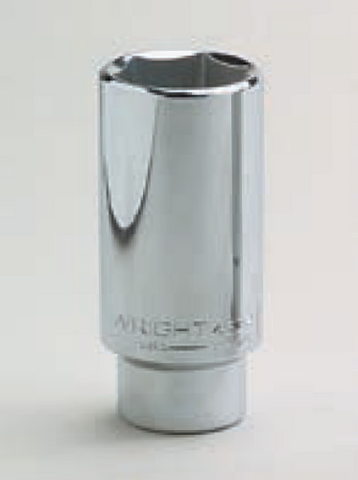 "1/2"" Drive 6 Point Deep Socket-Wright Tools"