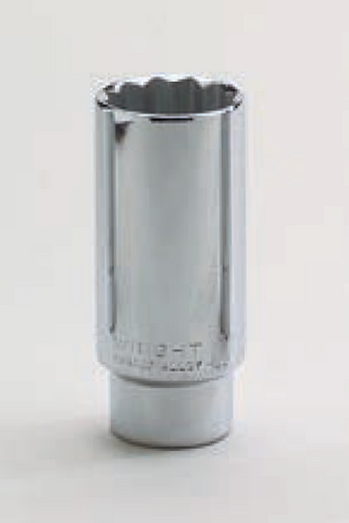 "1/2"" Drive 12 Point Deep Socket-Wright Tools"