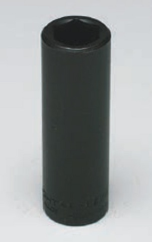 "1/2"" Drive Metric 6 Point Deep Impact Socket-Wright Tools"