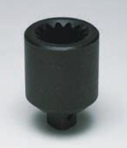 "1"" M - #5 Spline Impact Adaptor-Wright Tools"