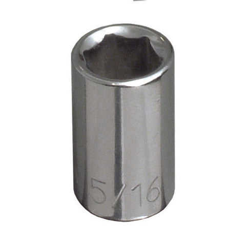 "1/4"" Drive Metric 6 Point Socket-Cougar Pro"