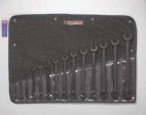"14 Pc. 12 Pt. Black Comb. Wrench Set 3/8""-1-1/4""-Wright Tools"