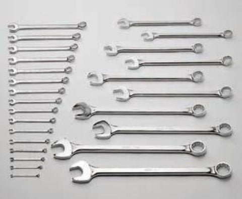 "16 Pc. 12 Pt. Comb. Wrench Set 1-5/16"" - 2-1/2""-Wright Tools"