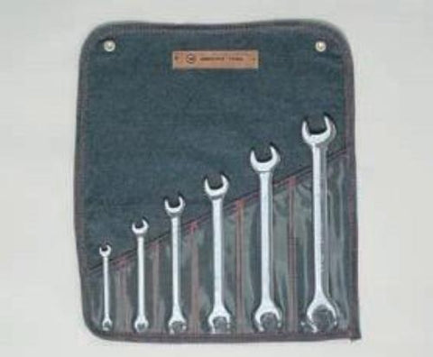 "6 Pc. Open End Wrench Set 1/4"" - 15/16""-Wright Tools"