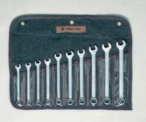 10 Pc. Metric Combination Wrench Set 10mm-19mm-Wright Tools