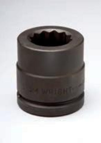 "1-1/2"" Drive 12 Point Impact Socket-Wright Tools"