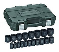 "19 Pc. 1/2"" Drive Socket Set-GearWrench"