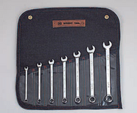 "7 Pc. Full polish Combination Wrench Set 1/4"" - 5/8"" 12 Pt.-Wright Tools"