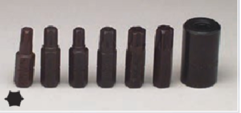 7 Pc. Torx Bit Set-Wright Tools