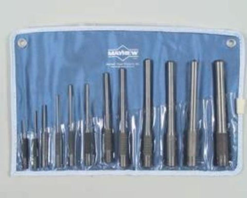 12 Pc. Pilot Punches Set - Mayhew #62254-Wright Tools